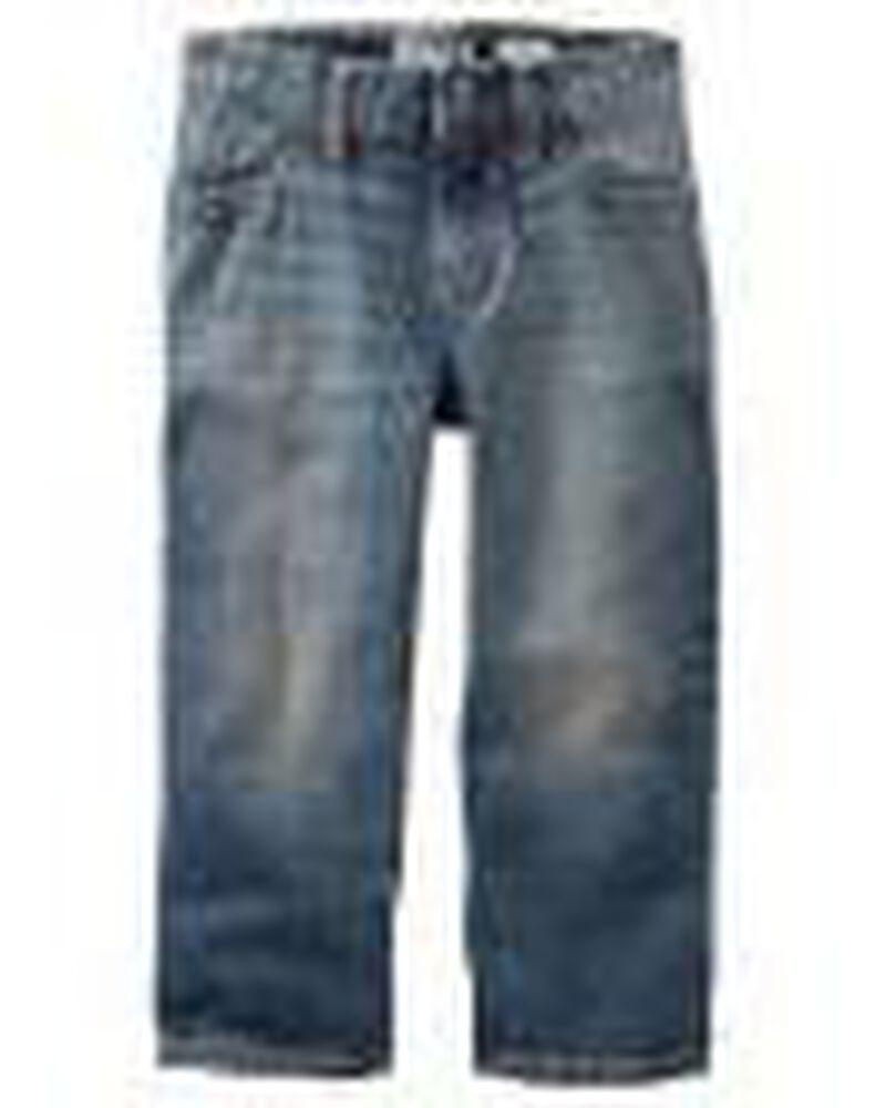 Classic Jeans - Tumbled Medium, , hi-res