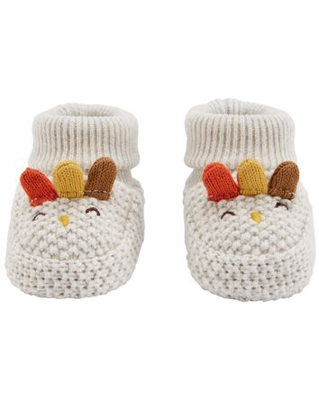 Thanksgiving Crochet Booties