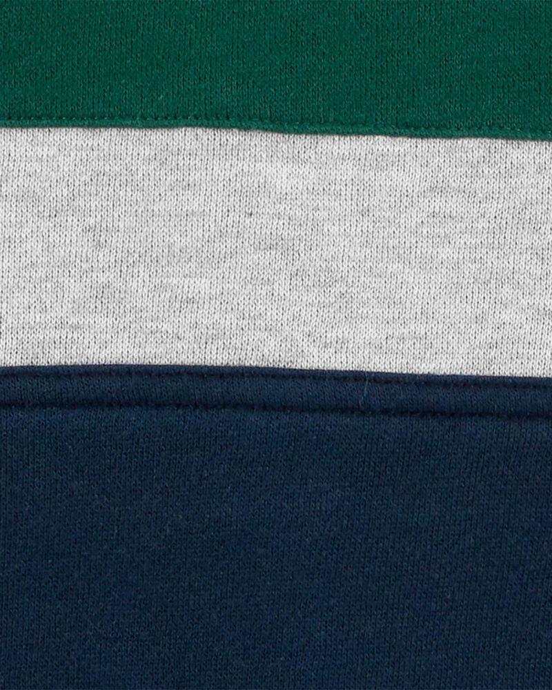 Kangourou à logo en molleton de couleurs contrastantes, , hi-res