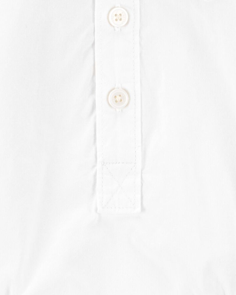 Button-Front Bodysuit, , hi-res