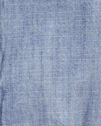 Cache-couche boutonné en chambray