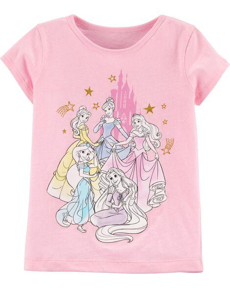 T-shirt à imprimé de princesse