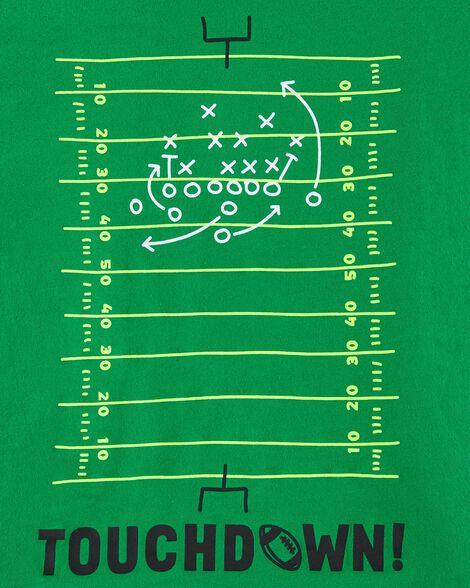 T-shirt en jersey football Touchdown