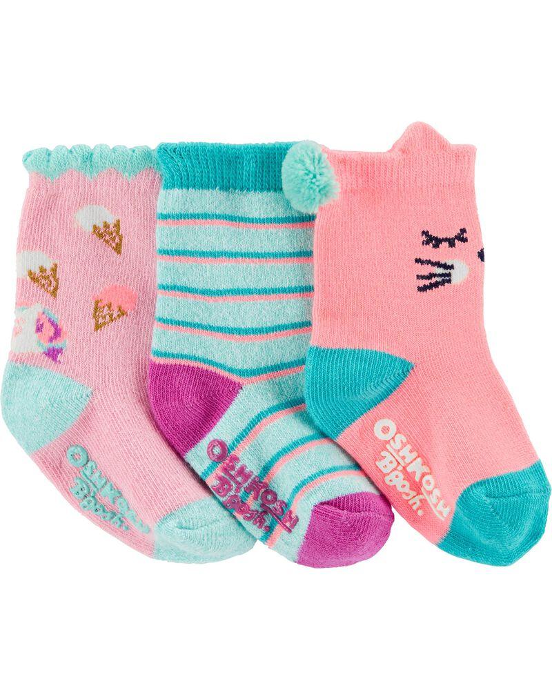 3 paires de chaussettes, , hi-res