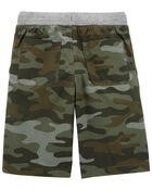Camo Easy Pull-On Dock Shorts, , hi-res