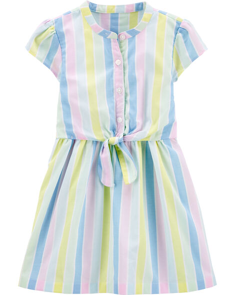 Striped Bow Dress