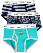 3-Pack Cotton Briefs, , hi-res