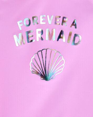 Sparkle Mermaid Rashguard Set