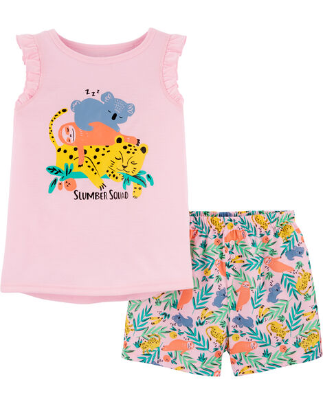 Pyjama à animaux endormis