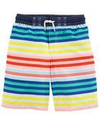 Rainbow Swim Trunks, , hi-res