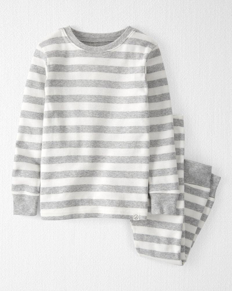 Pyjama 2 pièces en coton biologique, , hi-res
