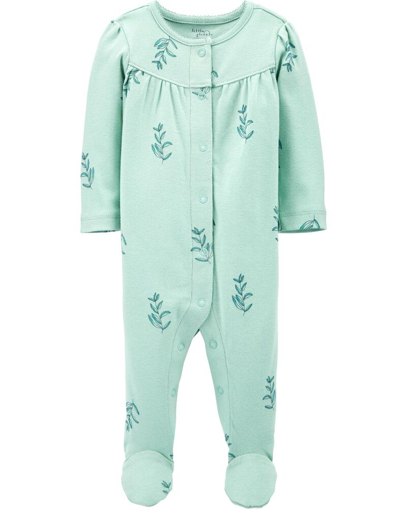 Certified Organic Cotton Snap-Up Sleep & Play, , hi-res