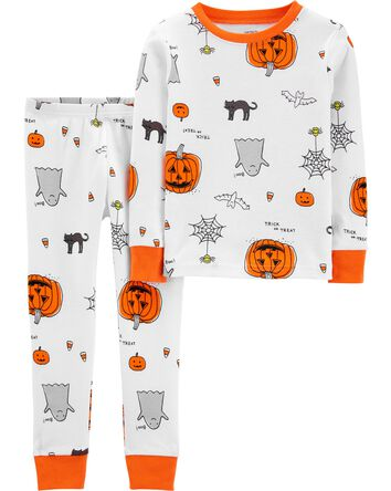 2-Piece Halloween Snug Fit Cotton P...