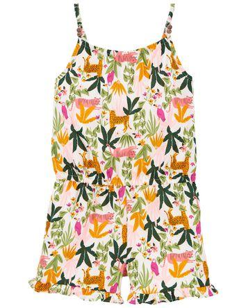Tropical Jersey Romper