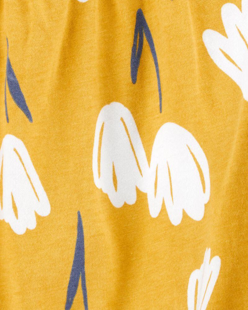 Floral Jersey Romper, , hi-res