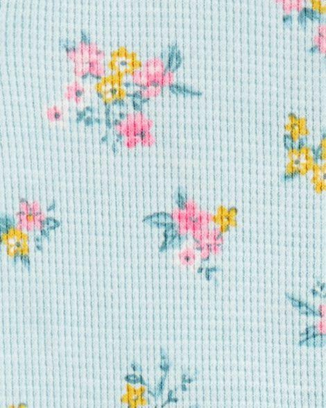 Floral Zip-Up Thermal Sleep & Play