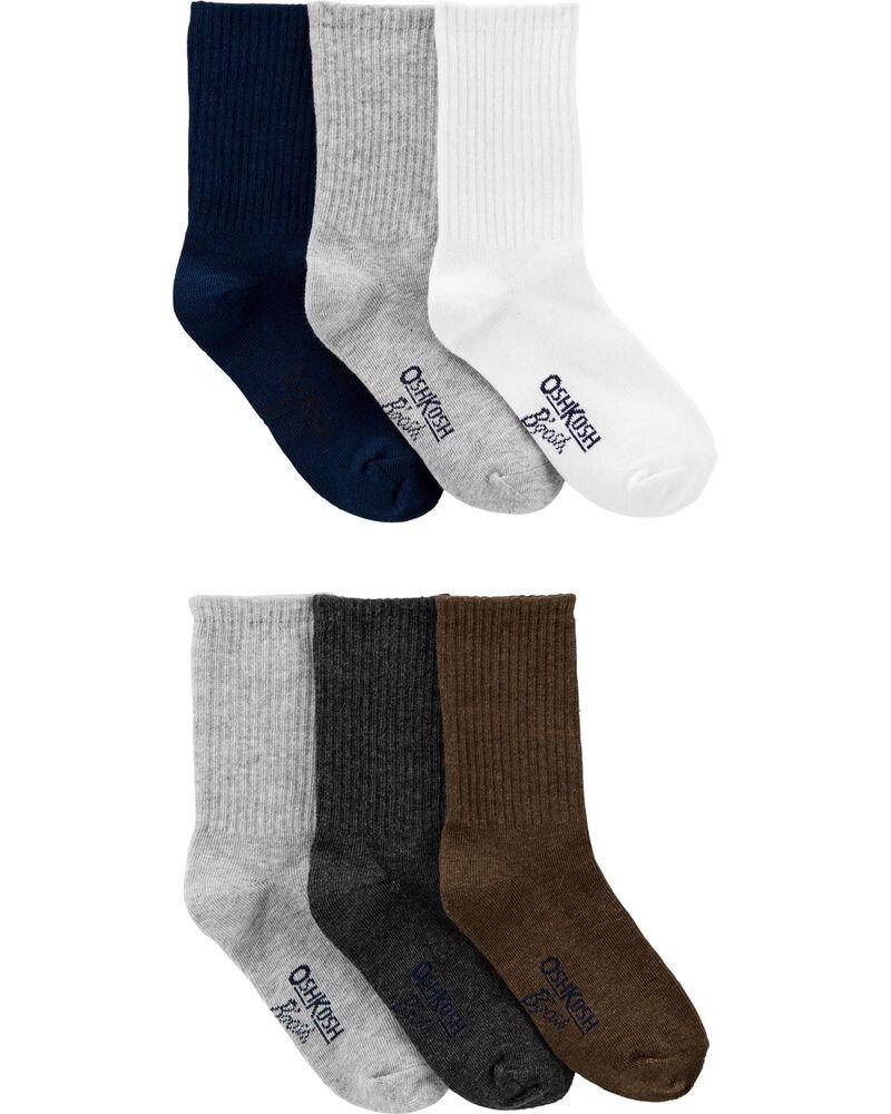 6 paires de chaussettes habillées, , hi-res