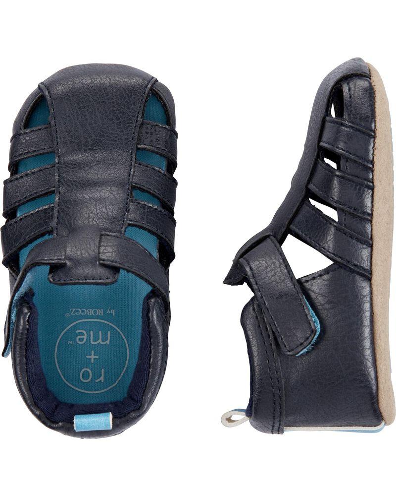 Robeez Andrew Sandal Soft Sole Shoes, , hi-res