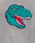 Chandail en molleton à dinosaure, , hi-res