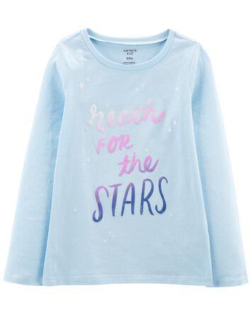 T-shirt en jersey Shoot For The Sta...