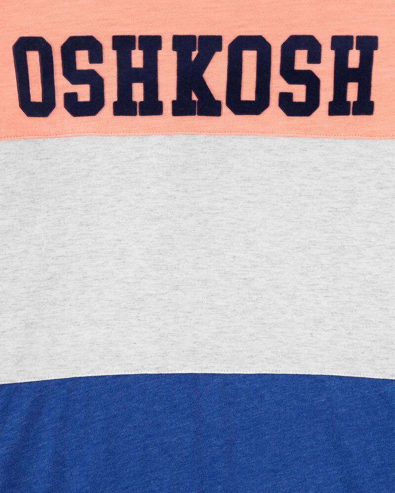T-shirt à logo de couleurs contrastantes, , hi-res