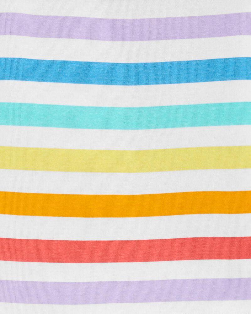 2-Piece Rainbow 100% Snug Fit Cotton PJs, , hi-res