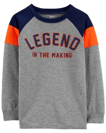T-shirt en jersey flammé Legend