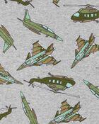 4-Piece Aircraft 100% Snug Fit Cotton PJs, , hi-res
