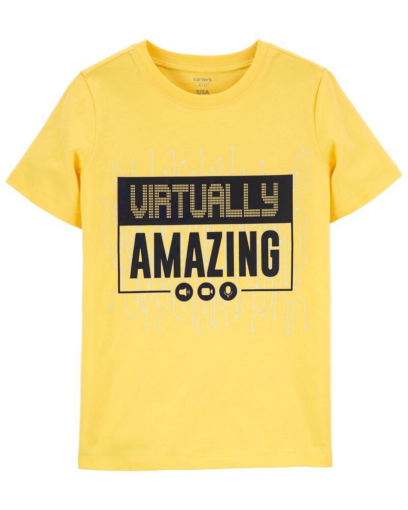 T-shirt en jersey Virtually Amazing , , hi-res
