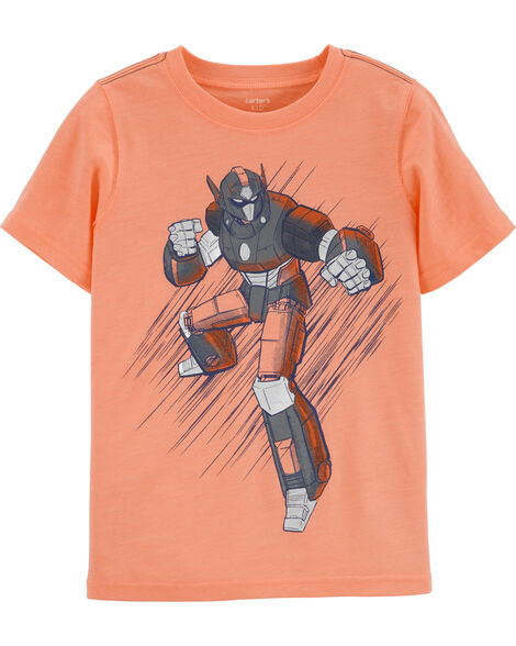 T-shirt en jersey chiné Robot