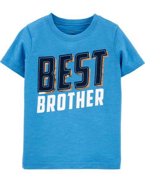 T-shirt en jersey Best Brother