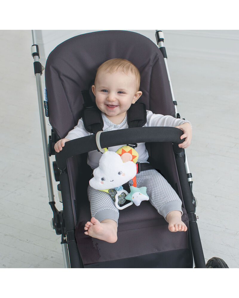 Silver Lining Cloud Jitter Stroller Baby Toy, , hi-res