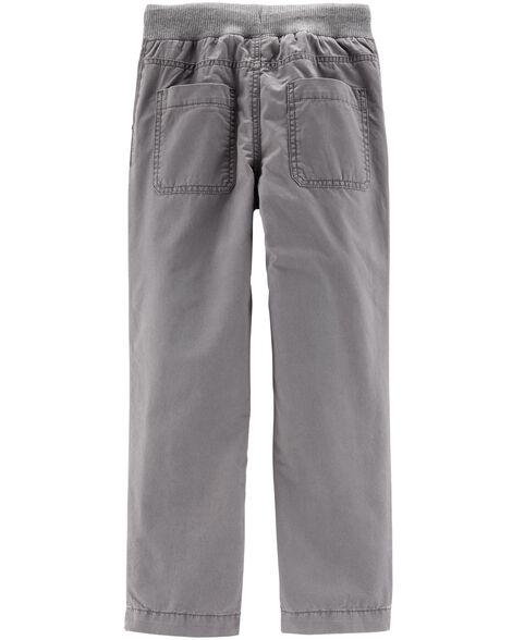 Pantalon de tous les jours à taille élastique