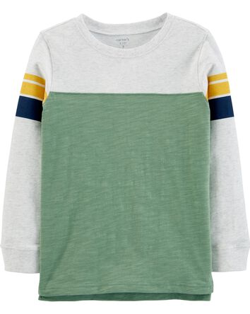 Striped Jersey Tee