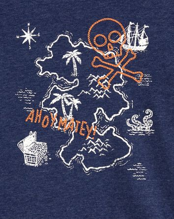 Ahoy Matey Embroidered Tee