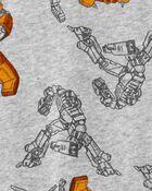 Kangourou molletonné à glissière avec robot, , hi-res