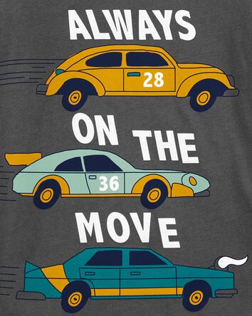 Always On The Move Car Jersey Tee
