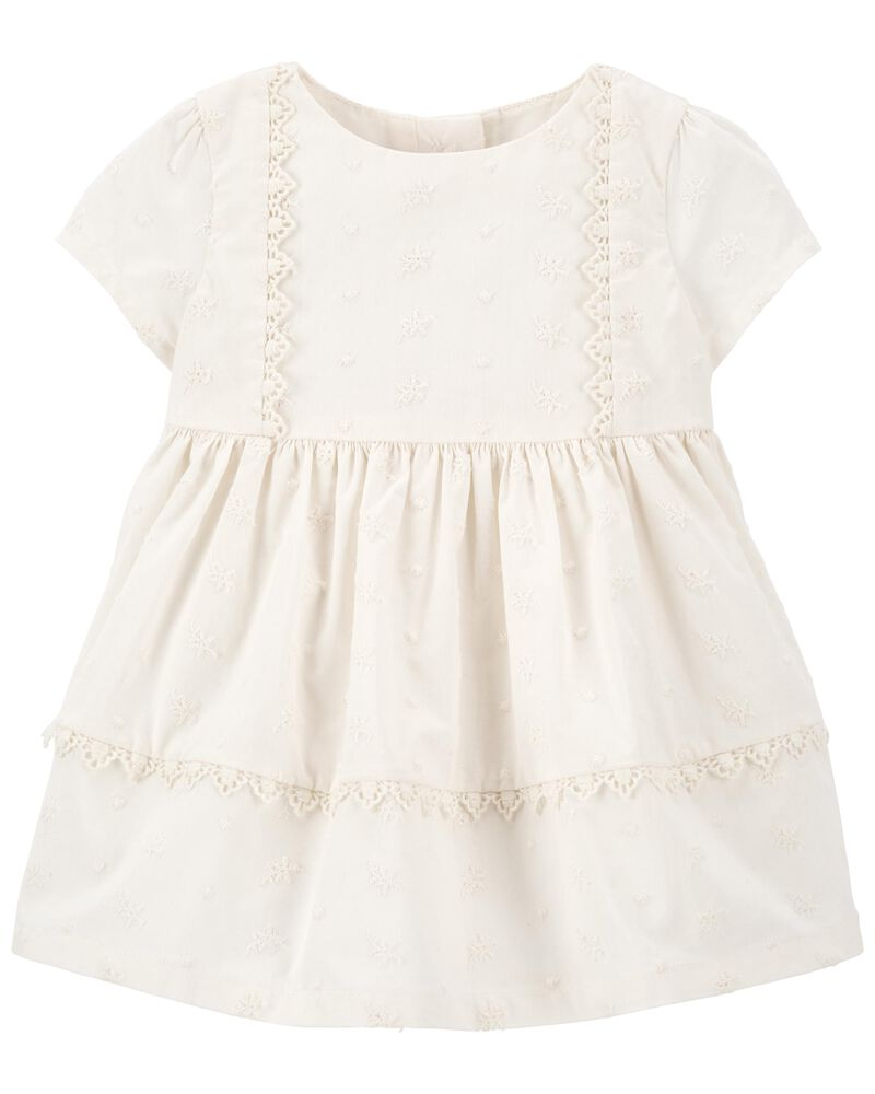 Swiss Dot Dress, , hi-res