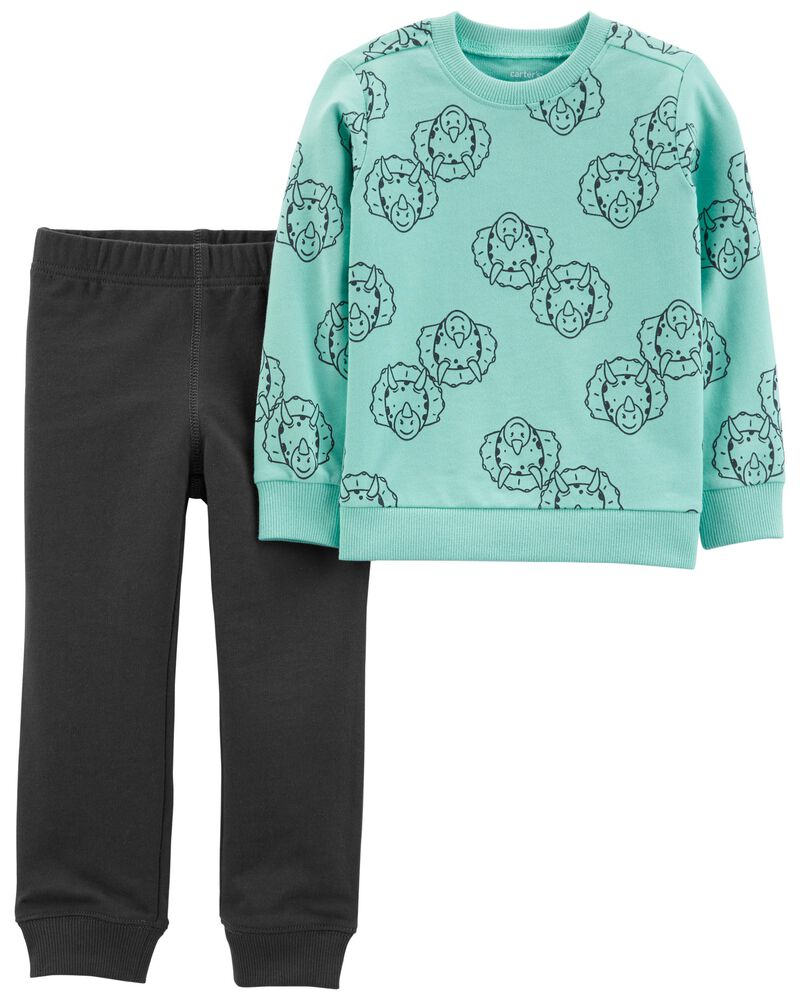 2-Piece Monster French Terry Pullover & Jogger Set, , hi-res
