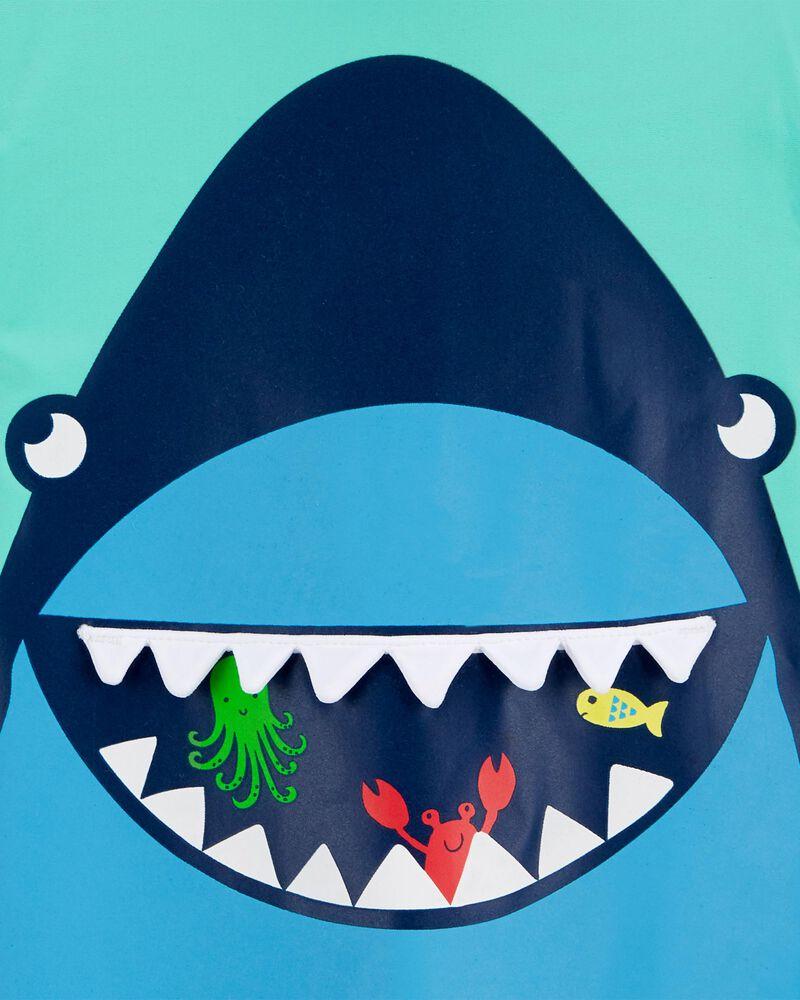 Maillot dermoproteur 1 pièce à requin Carter's, , hi-res