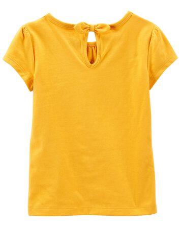 T-shirt en jersey à tournesol
