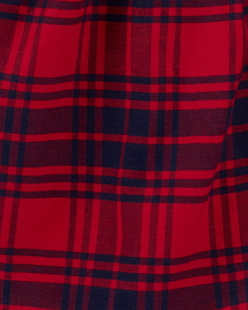 Robe à motif écossais, , hi-res