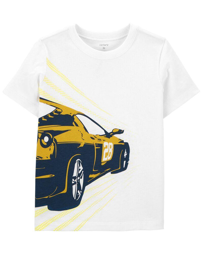 T-shirt en jersey à voiture, , hi-res