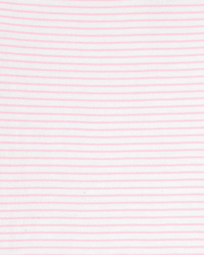 Striped Peter Pan Collar Top, , hi-res