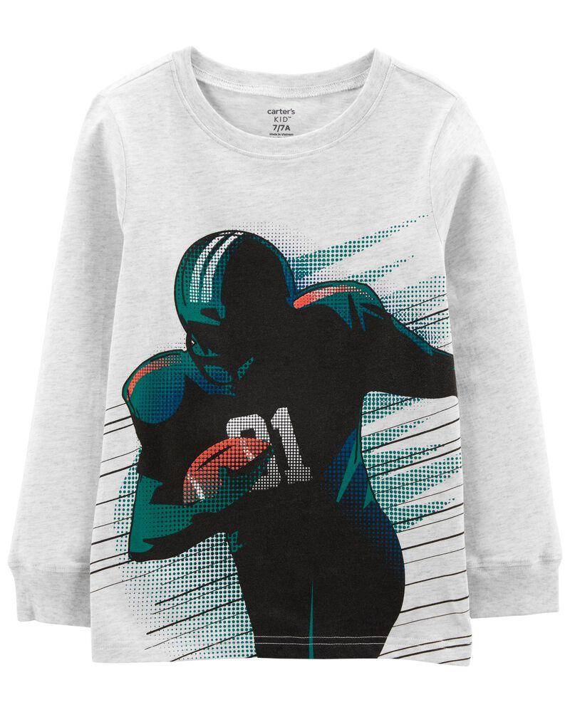 T-shirt de football en jersey , , hi-res