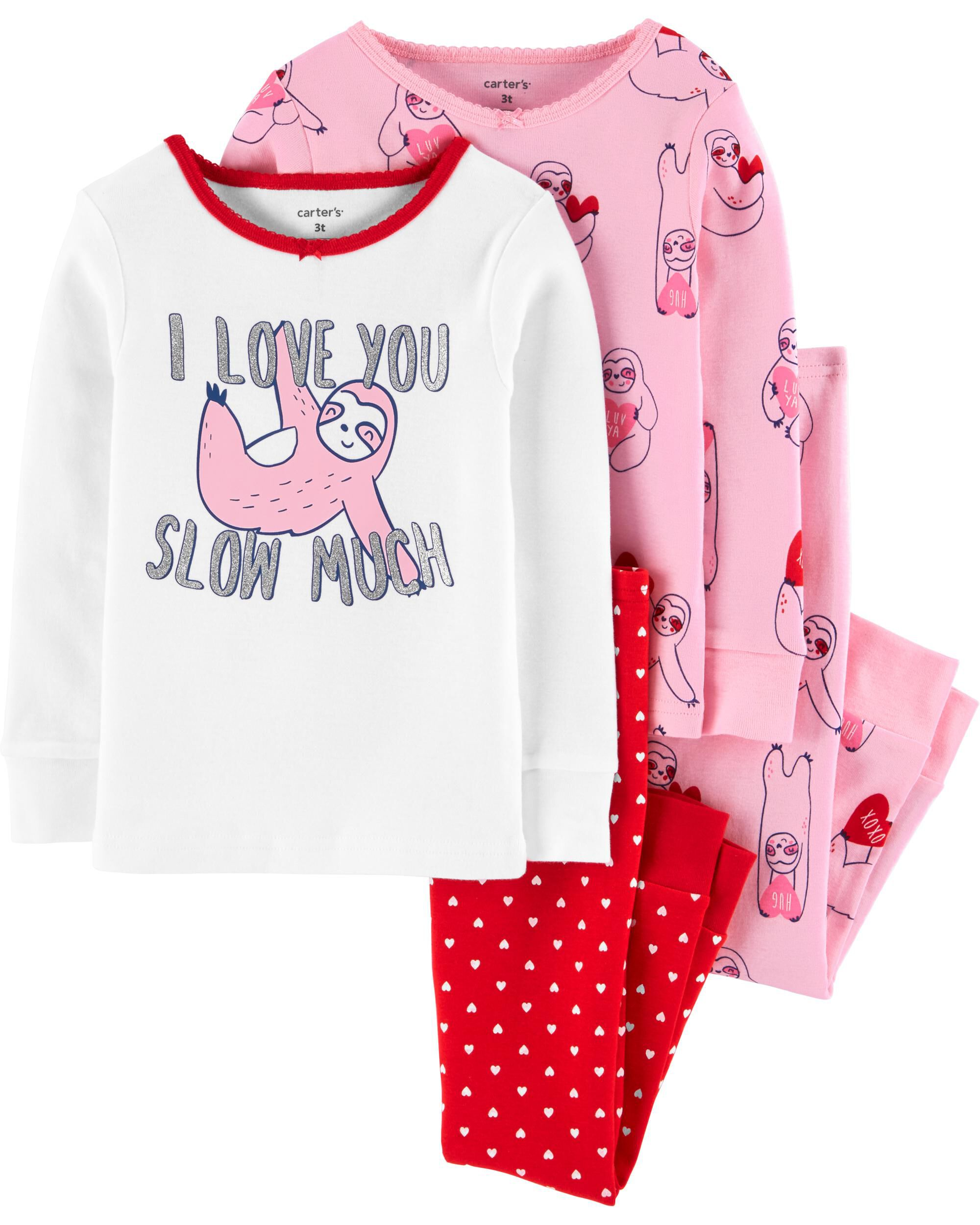 New Size 6-9M VALENTINE/'S 4-PIECE BABY OUTFIT