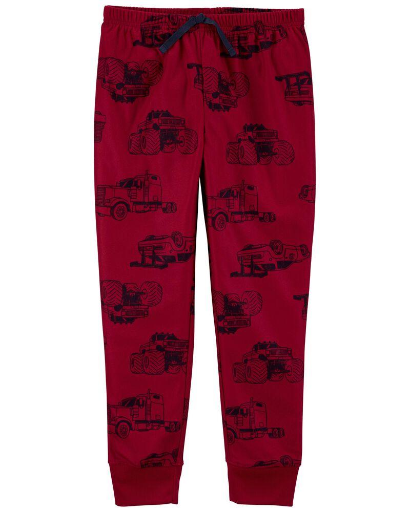 Pull-On Fleece PJ Pants, , hi-res