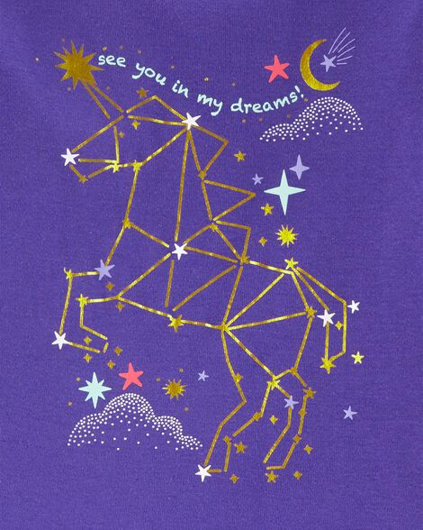 2-Piece Snug Fit Constellation Cotton PJs