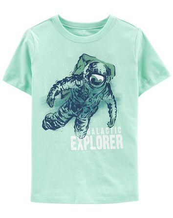 T-shirt en jersey à astronaute