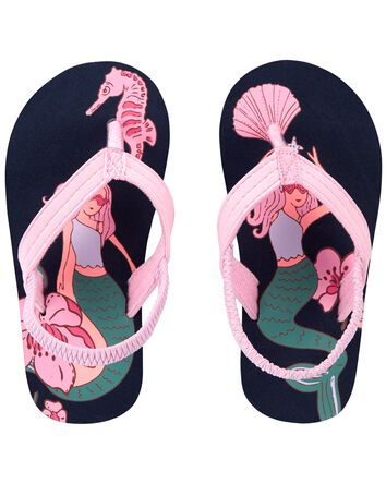Mermaid Flip Flops